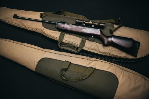 Rifle Firearm Gun Weapon Military War Black Pistol - Free Photo 1