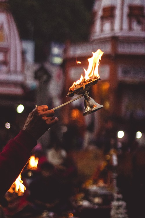 Light Torch Source of illumination Black Fire - Free Photo 1