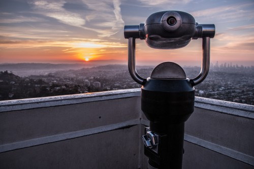 Binoculars Instrument Device Lens Equipment Camera Man Photographer - Free Photo 1