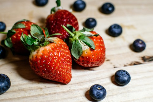 Strawberry Fruit Berry Edible fruit Strawberries Food Produce Juicy Sweet Ripe - Free Photo 1