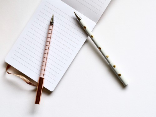 Notebook Pen Paper Office Pencil Note Blank Book - Free Photo 1