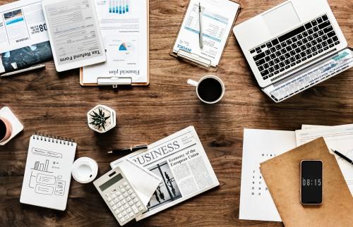 Business Paper Money Finance Notebook Office Desk Envelope - Free Photo 1
