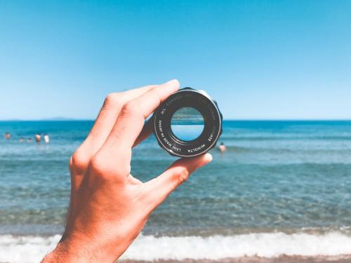 Magnetic compass Compass Sea Navigational instrument Beach Ocean Water #1