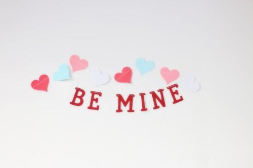Confetti Paper Card Valentine Pink Love - Free Photo