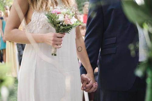 Groom Bride Wedding Couple Dress Love Bouquet Man Married Marriage - Free Photo 1