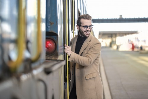 Passenger Man Business Male Adult - Free Photo 1