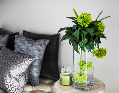 Vase Jar Room Interior Vessel Bouquet - Free Photo 1
