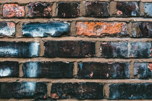 Brick Wall Building material Old Texture Surface Concrete - Free Photo 1