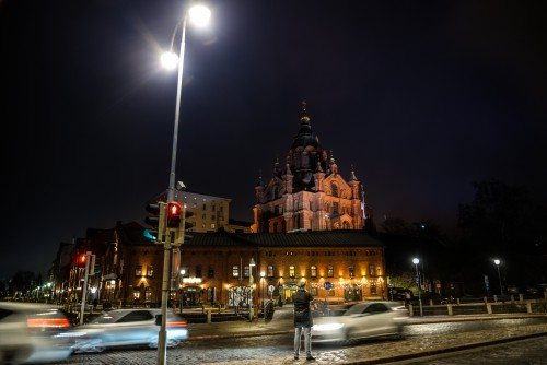 Architecture City Night Building Church Travel Capital Cathedral - Free Photo 1