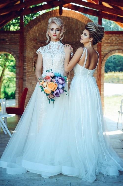 Dress Bride Wedding Skirt Garment - Free Photo 1