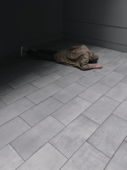 Sleeping bag Bag Tile Wall Floor Sidewalk Parquet Street Urban - Free Photo 1