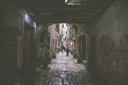 Tunnel Architecture Old Passageway Building Stone Ancient Passage History Column - Free Photo 1