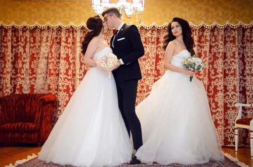 Groom Bride Wedding Dress Love Marriage Couple - Free Photo 1