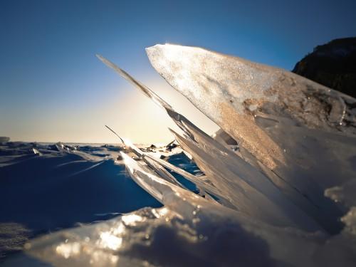 Mountain Snow Sky Ice Winter #1