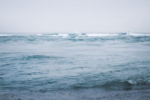 Body of water Ocean Sea Beach Water Coast Sand Wave Sky - Free Photo 1