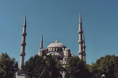 Mosque Building Minaret Structure Architecture Religion Dome Old Travel - Free Photo 1