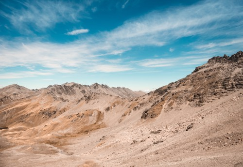 Dune Sand Desert Landscape Mountain Rock Canyon Travel - Free Photo 1