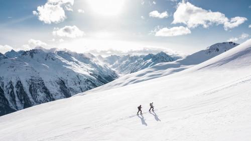 Slope Ski slope Mountain Snow Geological formation Winter Ski #1