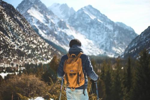 Mountain Snow Ascent Alp Slope Mountains Hiking - Free Photo 1