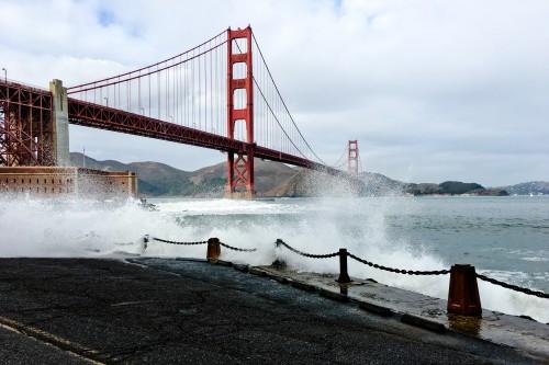Bridge Pier Support Landmark Structure Bay - Free Photo 1