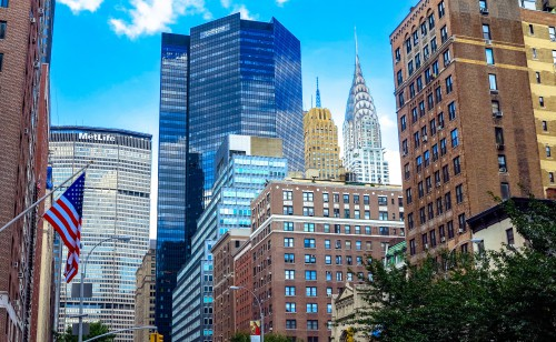Business district Skyscraper City Architecture Building - Free Photo 1
