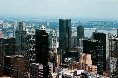 Skyscraper City Skyline Cityscape Urban Architecture Building Downtown #1
