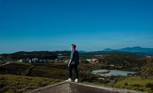 Sky Landscape Mountain Person Tourist