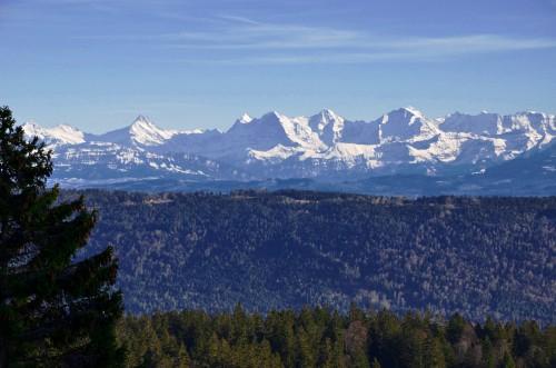 Mountain Landscape Range Snow Mountains Sky - Free Photo 1