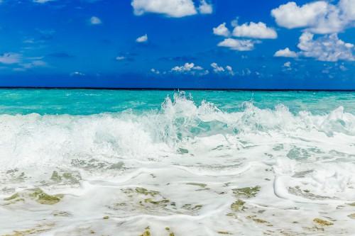 Beach Ocean Sea Body of water Sand Coast Water Sky - Free Photo 1