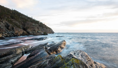 Shoreline Ocean Sea Coast Promontory Beach - Free Photo 1