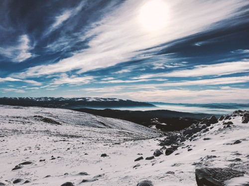 Snow Glacier Mountain Ice Slope - Free Photo 1