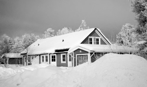 Snow Winter Weather Cold House Building Hut - Free Photo 1