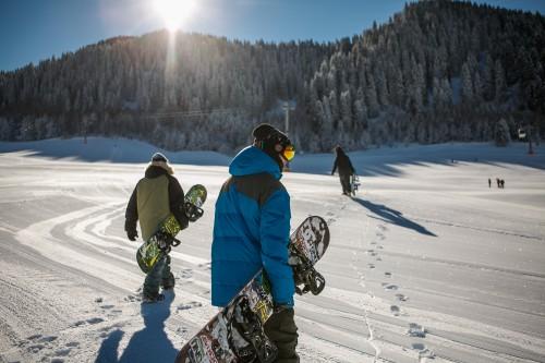 Snowmobile Snow Winter Ski Cold Mountain Slope Sport Skier - Free Photo 1