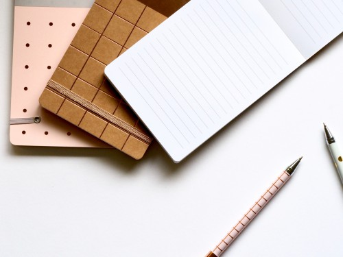 Notebook Paper Note Blank Message Empty Office Page Write - Free Photo 1