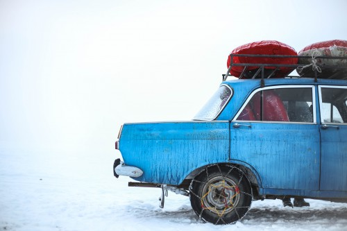 Snow Vehicle Motor vehicle Car Snowplow Truck Weather Transportation Winter - Free Photo 1